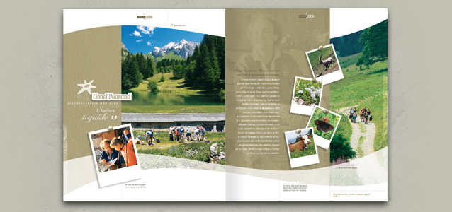 Pages nature de la brochure �t� de Ch�tel