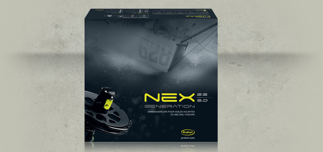 Haut du packaging Nex Generation de Profurl