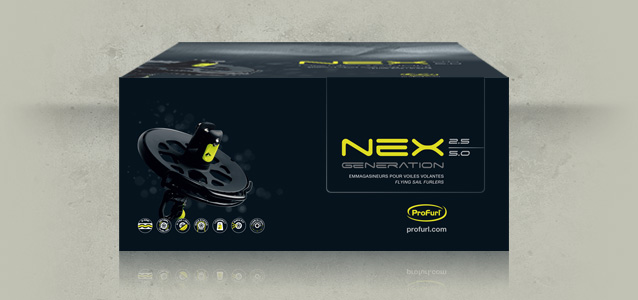 Face avant du packaging Nex Generation de Profurl